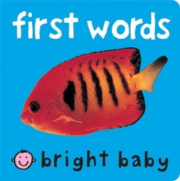 Book Bright Baby First Words by Roger Priddy