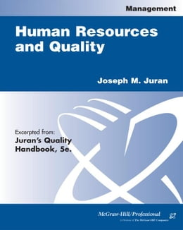 Book Human Resources and Quality by Juran, Joseph M