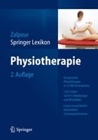 Springer Lexikon Physiotherapie by Christoff Zalpour