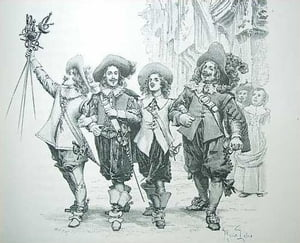 The Three Musketeers by Alexandre Dumas, Père