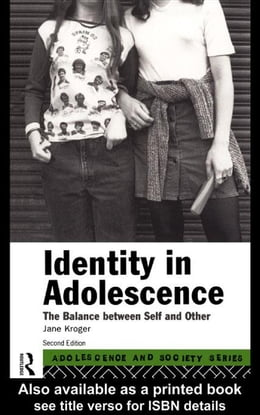 Book Identity In Adolescence by Kroger, Jane