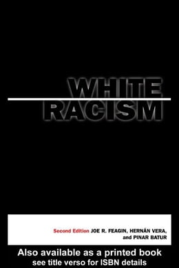 Book White Racism by Feagin, Joe
