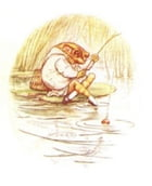 Tale of Mr. Jeremy Fisher (Illustrated) by Beatrix Potter