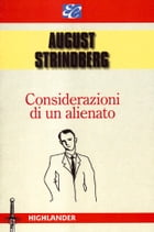 Considerazioni di un alienato by August Strindberg