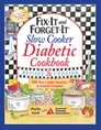 Fix-It and Forget-It Slow Cooker Diabetic Cookbook Cover Image