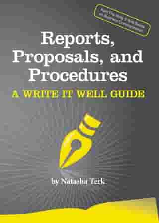 Reports, Proposals, and Procedures by Natasha Terk