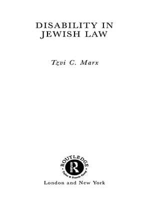 Disability in Jewish Law