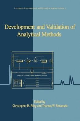 Book Development and Validation of Analytical Methods by Riley, Christopher M.