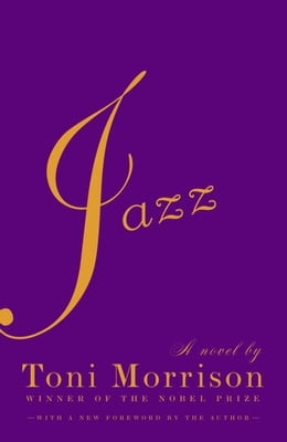 Book Jazz by Toni Morrison