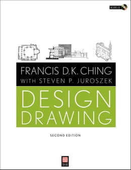Book Design Drawing by Francis D. K. Ching
