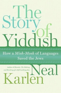 Book The Story of Yiddish: How a Mish-Mosh of Languages Saved the Jews by Neal Karlen