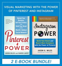 Book Visual Marketing with the Power of Pinterest and Instagram EBOOK BUNDLE by Jason Miles