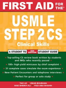 Book First Aid for the USMLE Step 2 CS by Le, Tao