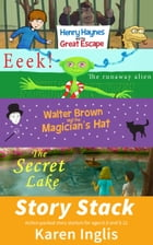 Story Stack: Action-packed story starters for ages 6-8 and 9-12 by Karen Inglis