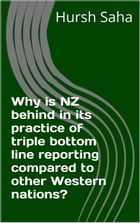 Why is NZ behind in its practice of triple bottom line reporting compared to other Western nations? by Hursh Saha