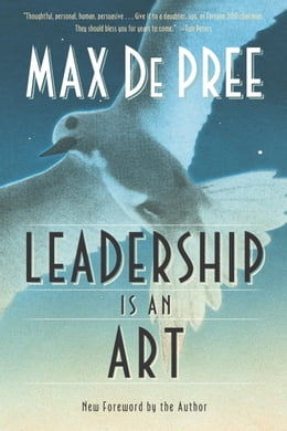 Book Leadership Is an Art by Max Depree