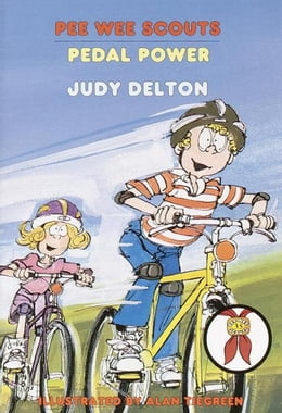 Book Pee Wee Scouts: Pedal Power by Judy Delton