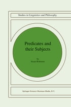 Predicates and Their Subjects by Susan Rothstein
