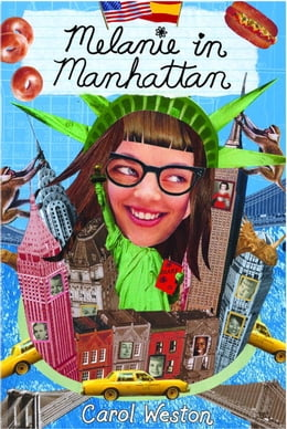 Book Melanie in Manhattan by Carol Weston