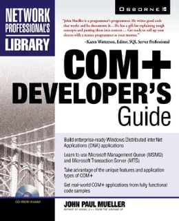 Book COM+ Developer's Guide by Mueller, John