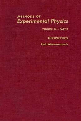 Book Geophysics Field Measurements by Sammis, Charles G.