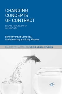 Changing Concepts of Contract: Essays in Honour of Ian Macneil