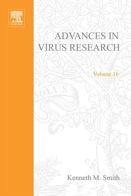 Book Advances in Virus Research by Unknown, Author