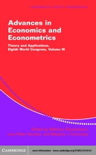 Advances in Economics and Econometrics Volume 3