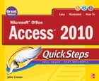 Microsoft Office Access 2010 QuickSteps