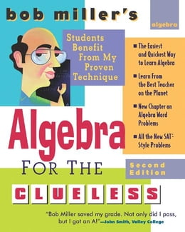 Book Bob Miller's Algebra for the Clueless, 2nd edition by Miller, Bob