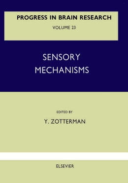 Book Sensory Mechanisms by Zotterman, Y.
