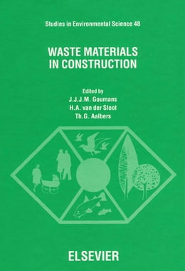 Book Waste Materials in Construction by Aalbers, Th. G.