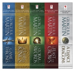 Book George R. R. Martin's A Game of Thrones 5-Book Boxed Set (Song of Ice and Fire Series): A Game of… by George R. R. Martin
