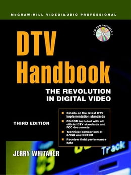Book DTV: The Revolution in Digital Video by Whitaker, Jerry C.