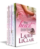The Heart Romance Series boxed set (Secrets Of The Heart Book 1, Crimes Of The Heart Book 2, and Lies Of The Heart Book 3) by Laurie LeClair
