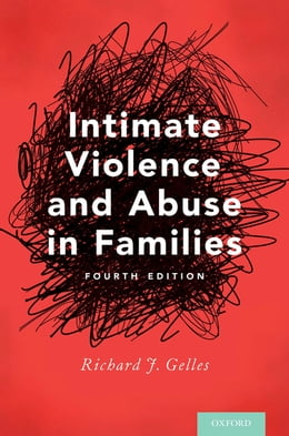 Book Intimate Violence and Abuse in Families by Richard J. Gelles