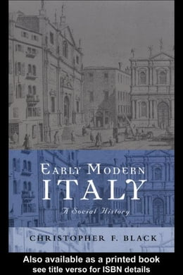 Book Early Modern Italy by Black, Christopher