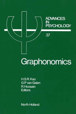 Book Graphonomics: Contemporary Research in Handwriting by Kao, H.S.R.