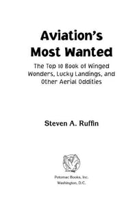 Aviation's Most Wanted™