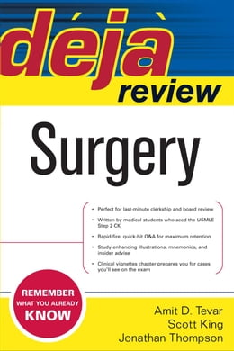 Book Deja Review Surgery by Tevar, Amit D.