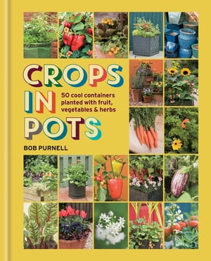 Crops in Pots 50 cool containers planted with fruit,  vegetables and herbs