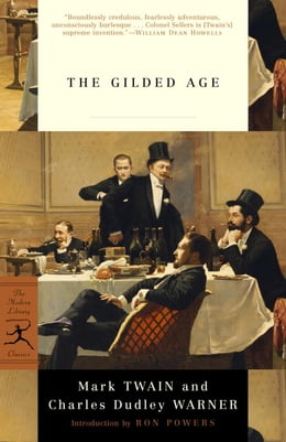 Book The Gilded Age by Mark Twain