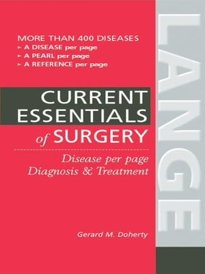 Essentials of Diagnosis & Treatment in Surgery