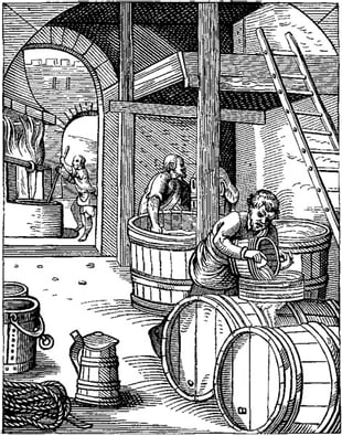 The American Practical Brewer and Tanner, in which is exhibited the whole process of brewing without boiling (1815)