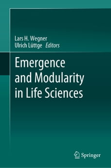 Emergence and Modularity in Life Sciences