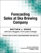 Forecasting Sales at Ska Brewing Company by Matthew J. Drake