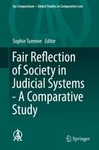 Fair Reflection of Society in Judicial Systems - A Comparative Study by Sophie Turenne