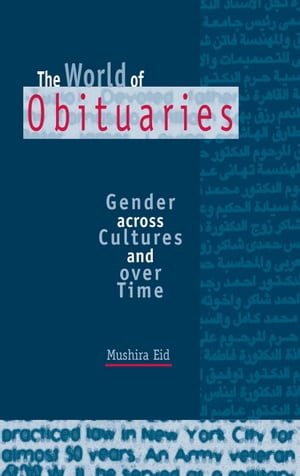 The World of Obituaries Gender across Cultures and over Time