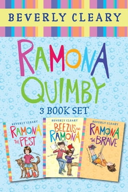 Book Ramona 3-Book Collection: Ramona the Pest, Beezus and Ramona, Ramona the Brave by Beverly Cleary