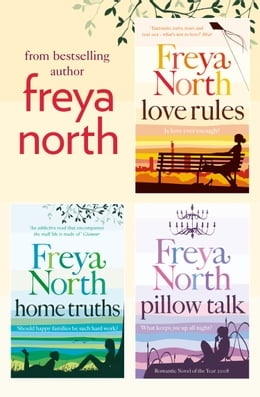 Book Freya North 3-Book Collection: Love Rules, Home Truths, Pillow Talk by Freya North